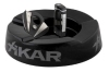 Ashtray, Xikar Black Ceramic Ashtray with Executive Lighter & Xi Cutter