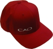CAO Flexfit Wooly 6-Panel Cap, Red