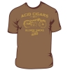 ACID, T-shirt, Blowin Smoke Brown