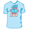 ACID, T-shirt, Experience Acid Light Blue