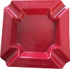 Ashtray, My Father, Melamine Red