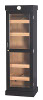 Tower Display Humidor, Black, 5-shelf, Holds up to 3,000 Cigars