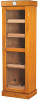 Tower Display Humidor, Oak, 5-shelf, Holds up to 3,000 Cigars
